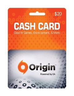 گیفت کارت اوریجین 20 دلاری