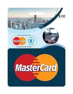 گیفت کارت مستر 100 دلاری