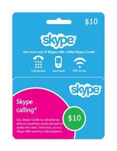 گیفت کارت اسکایپ 10 دلاری