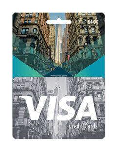 گیفت کارت ویزا کارت 100 دلاری